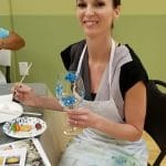 Glass Painting Party @ Pour Yours Wine Bar in Clearwater