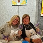 Glass Painting Party in Clearwater